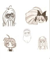 Some Drawings... by beginthebegin