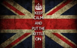Keep Calm and put the Kettle On by Mgyk