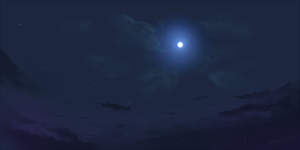 BG : Night Sky by froznkamui