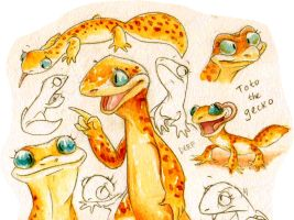 Keep Calm and Geckos by Frozenspots