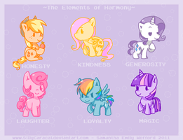 The Elements of Harmony by SillyCaracal
