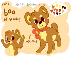 sir boo's reference sheet 2013 by sir-boo