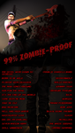 99% Zombie-Proof: Playlist and Cover by Ellislash