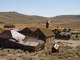 Western Ghost Town I by Geotripper