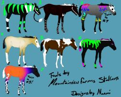 Pregnant mare's foals by naomithewolf