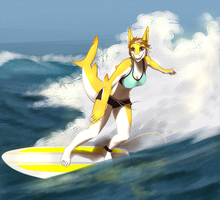 Sun and Surf by xCountingBodiesx