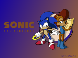SatAM: Sonic and Sally wall by adamis