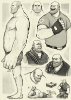 Heavy studies by Lintufriikki