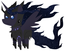 Commission: mini Dark Star by ForeshadowART