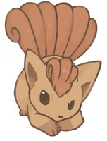 Vulpix by humphreywolf2012