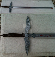 Le Chevalier D'eon sword by CosplayPropMaster