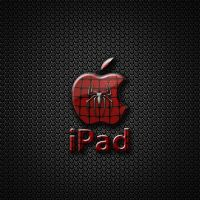 ipad Wallpaper - Apple Spider by LaggyDogg