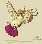 018: Pidgeot by Mabelma