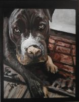 Lilah my painting by cliford417