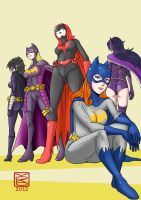 BATGIRLs by Y0KO