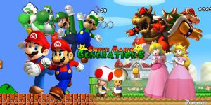 Mario Generations 2.2 by MatheusGD