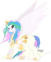 Celestia, Goddess of Harmony by halotheme