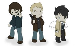 Supernatural Minis by Ghostey