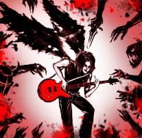 Angel or Demon? - No, Guitarist by RoyalPaladin