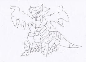 Giratina by bloodfeather9875