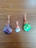 little pendants by Wolf-Lady-bsparks85
