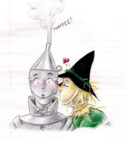 Tinman and Scarecrow by Mistress-D