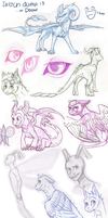 sketch dump.. by aacrell