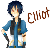 .:AT:.  Kikaine Elliot by ChiChizu