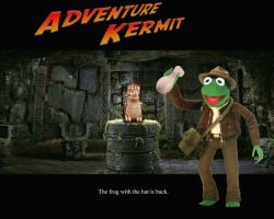 Adventure Kermit by srhanson