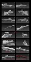 Contention: Exohuman Slicer Sniper Rifle by Malcontent1692