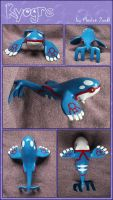 Commission: Kyogre by Myszoskok