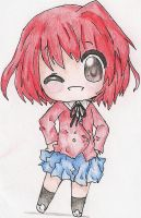 Chibi Minori! by yellowstarcake