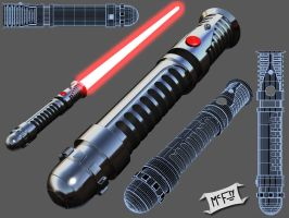 Misc. Lightsaber by Marty--McFly