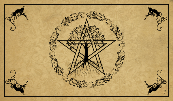 Rowan Tree Coven Logo by The-Pagan-Gallery