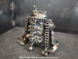 Steampunk R2D2 by Kreatworks