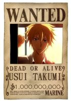 WANTED Usui by Ainnita