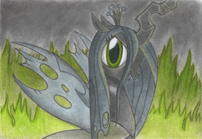 Queen Chrysalis by GhostOfWar909