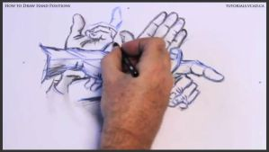 Learn how to draw hand positions 017 by drawingcourse