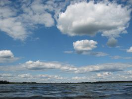 STock: Sky/Water 2 by Think-Outside-Of-Box