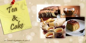 Tea and Cake flyer by CNunes