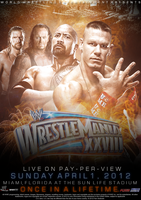 WWE: Wrestlemania 28 (V.1) by PainSindicate