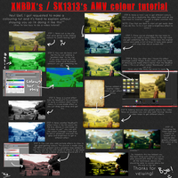 AMV Colours Tutorial by SerialKiller1313
