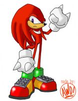 Knuckles by AndrewDickman