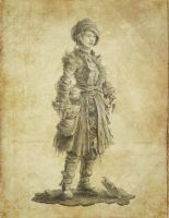 Early Concept - Wanderer Lady by musegames