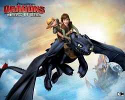 Toothless, Astrid, and Hiccup by Xx-NightFuryGirl-xX