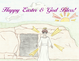 Happy Resurrection Day! by LadyArtist