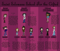 Saint Solomans School for the Gifted by TheOutsanityShoppe