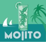 Mojito Drink Coaster by DecoEchoes