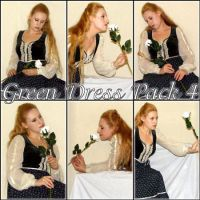 Green Dress pack 4 by kythca-stock