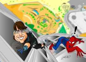 tom vs spider by superhilalo